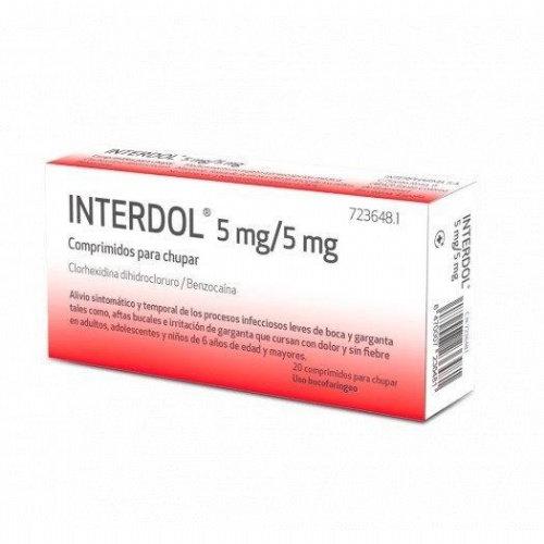 Interdol5 Mg/5 Mg 20 Compr Para