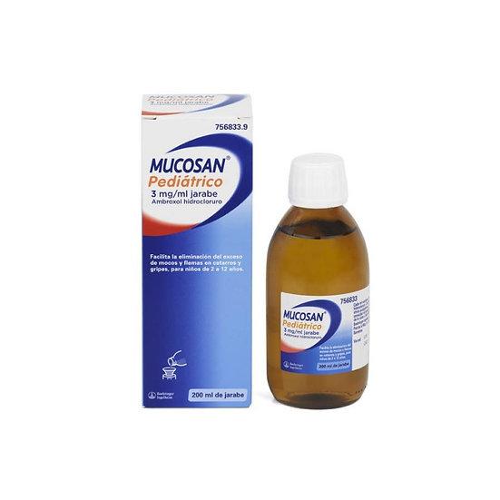 Mucosan Pediatrico3 Mg/Ml Jar 1 Fr 200 Ml