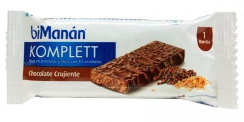 Bimanan Barrita Chocolate Crujiente 35 Grs