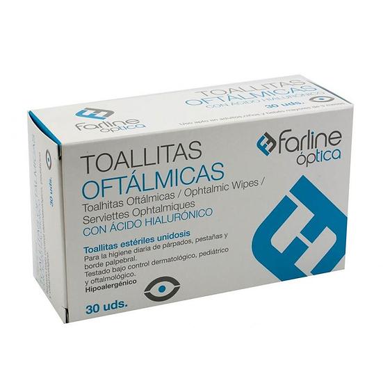 Farline Toallitas Oftalm30 Toallitas