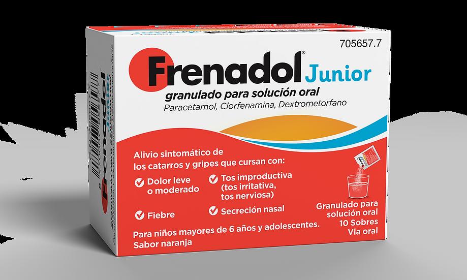 Frenadol Junior10 Sobr Granulado Para S