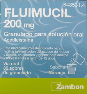 Fluimucil200 Mg 30 Sobr Granulado