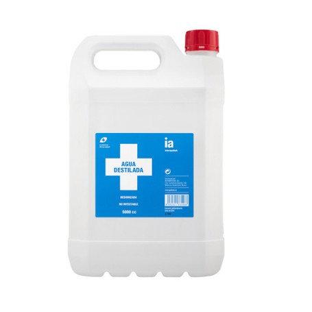 Agua Destilada Interapthek 5 Litros