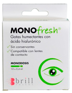 Monofresh Gotas Humectan0.4 Ml 10 Monodosis