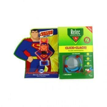 Relec Pulsera Antimosquitos Muñeco Superman