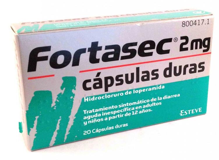 Fortasec2 Mg 20 Caps