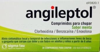 Angileptol30 Compr Para Chupar (Sa