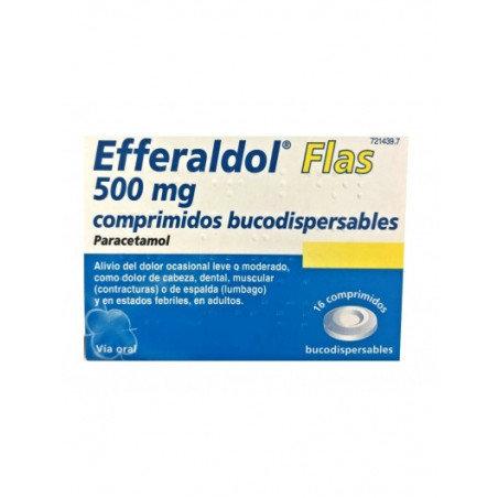 Efferaldol Flas500 Mg 16 Compr Bucodisp