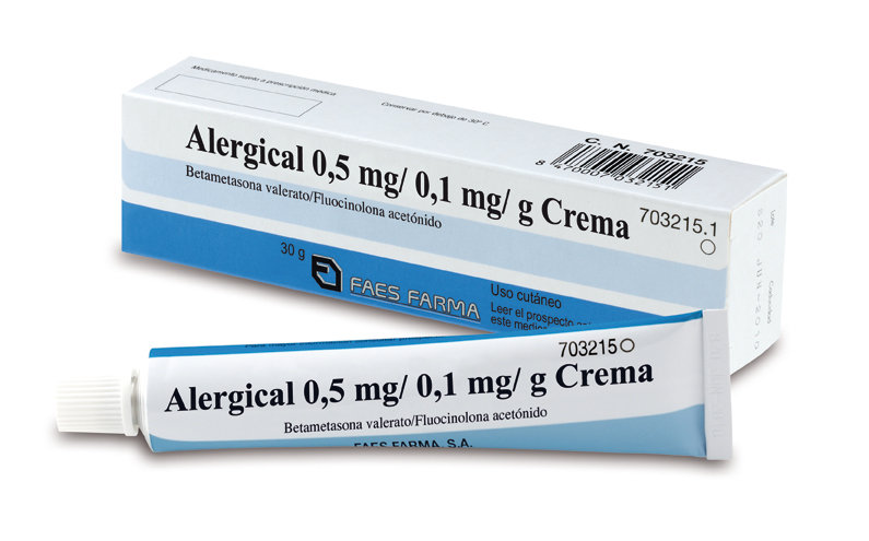 Alergical0,5 Mg/G + 0,1 Mg/G Crem