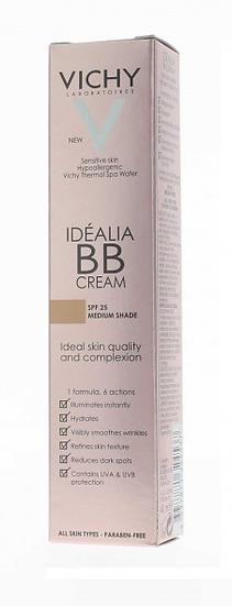 Idealia Bb Cream Spf 25Tono Medio 40 Ml
