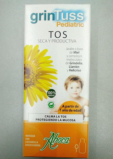 Grintuss Jarabe Pediatrico Tos Seca Y Prod 180Ml