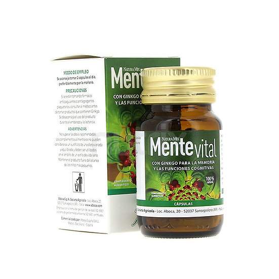 Naturamix Mentevital30 Caps