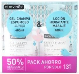 Gel-Champu Espumoso + Locion Hidratante Corporal