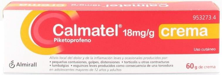 Calmatel18 Mg/G Crema 1 Tubo 60