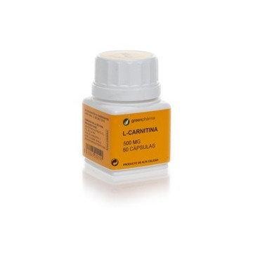 L- Carnitina Botanicapha500 Mg 60 Caps