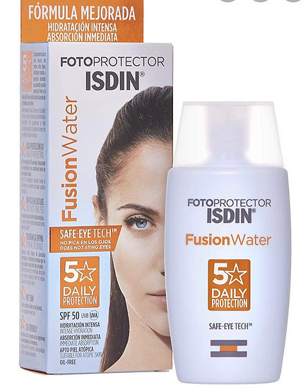 Fotoprotector Isdin Fusion Water 50+Spf Oil Free