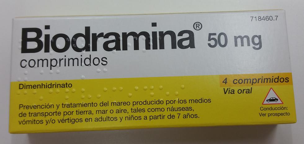 Biodramina50 Mg 4 Compr
