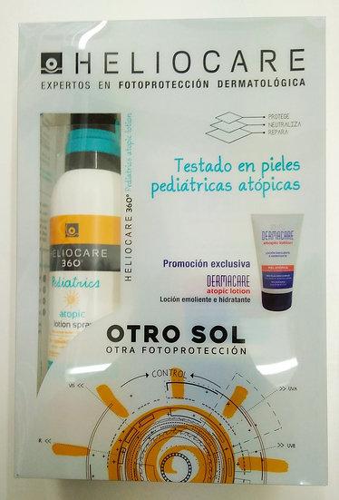 Heliocare 360ª Pediatrics Atopic + Dermacare Atp