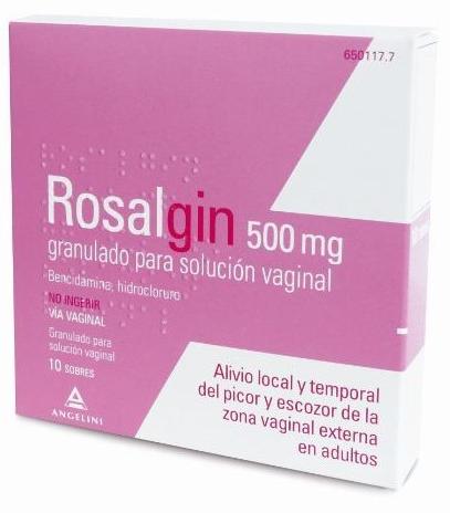 Rosalgin500 Mg 10 Sobr Granulado