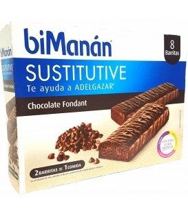 Bimanan Sustitutive 8 Barritas 40 Grs Chocolate