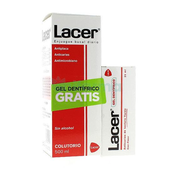 Lacer Kit Colutorio 500Ml + Gel Dentifrico