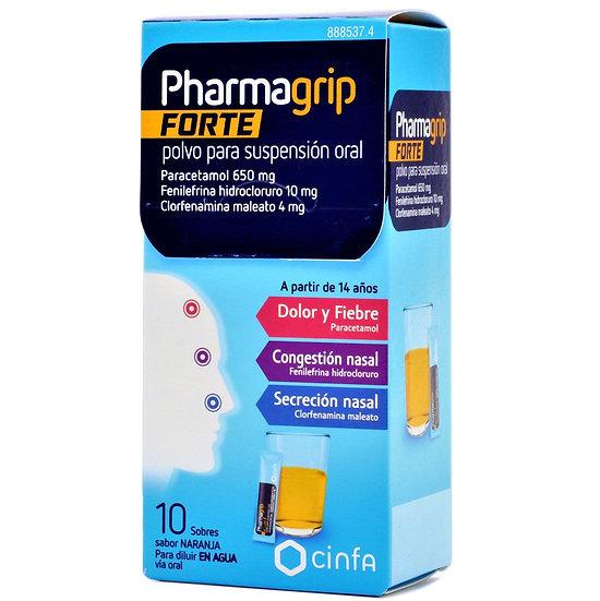 Pharmagrip Forte10 Sobr Polvo Para Susp