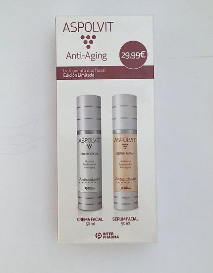 Aspolvit Pack Serum Y Crema Facial 100Ml