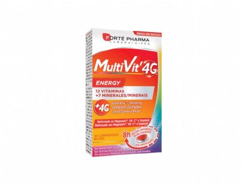 Multivit 4G Energy30 Compr