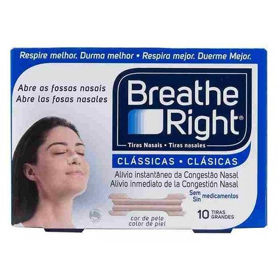 Breathe Righttira Adh Nasal T- Gde 10