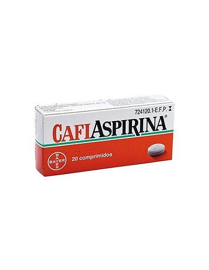 Cafiaspirina500 Mg/50 Mg 20 Compr