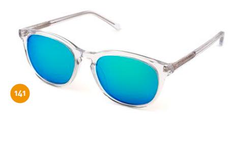Gafas De Sol Transparente De Espejo