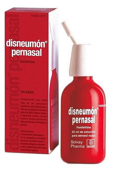 Disneumon Pernasal5 Mg/Ml Nebu Nasal 25 Ml