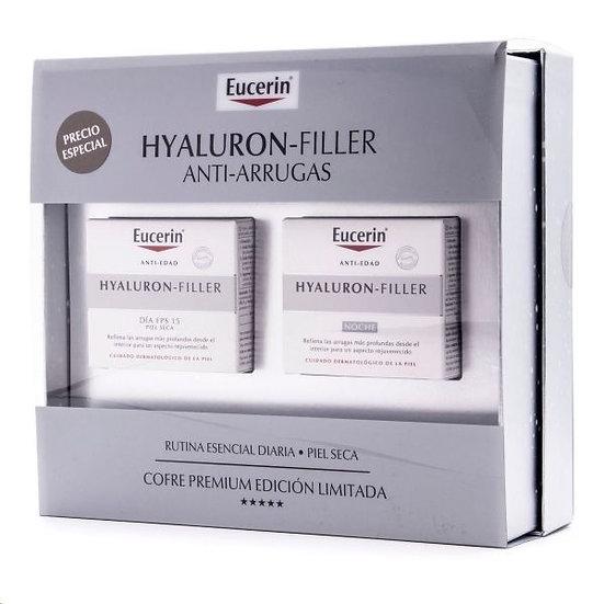 Eucerin Cofre Hyaluron-Filler P/S Noche-Dia