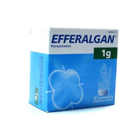 Efferalgan1 G 40 Compr Eferv