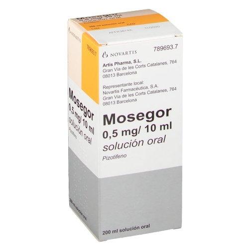 Mosegor0,25 Mg/5 Ml Solu Oral 1