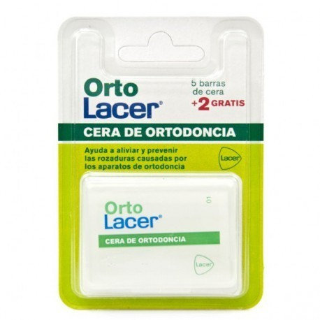 Cera Ortodoncia Protectoortolacer 7 Barritas