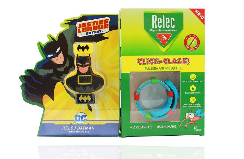 Relec Pulsera Antimosquitos Muñeco Batman
