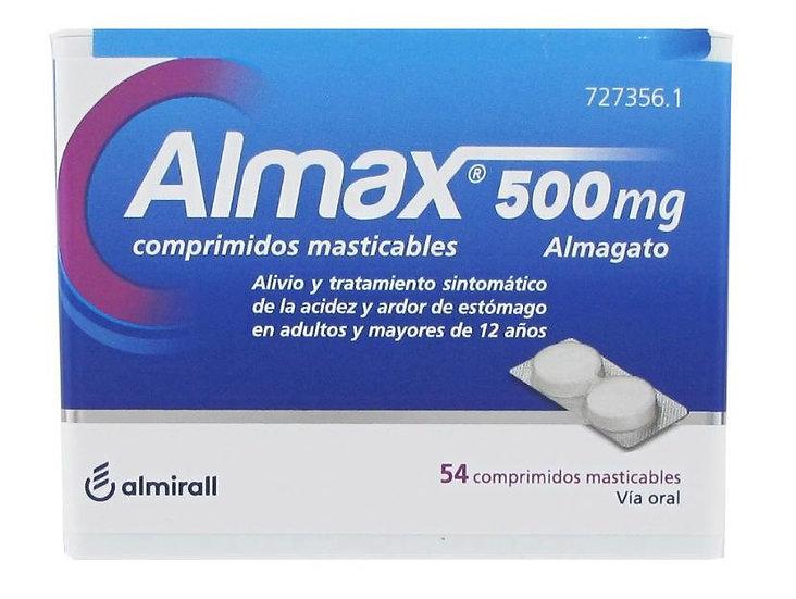 Almax500 Mg 54 Compr Mastic