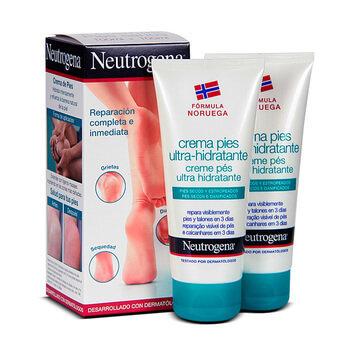 Neutrogena Pies Crema Ultra Hidratante 100 Mlx2