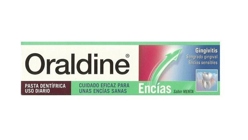 Oraldine Encias Pasta De125 Ml Menta