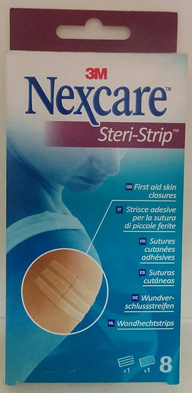 Steri Strip 3M Nexcare Su 6 X 75 Mm Y 5 U 3 X 75