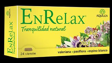 Enrelax Valeriana+Pasiflora+Espino Blanco 24Cáps