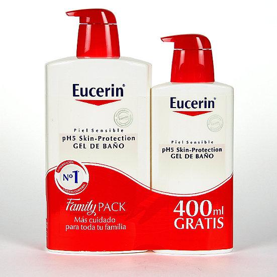 Pack Eucerin Gel De Baño1L+Gel Gratis 400Ml