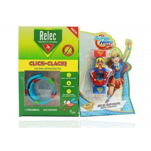 Relec Pulsera Antimosquitos Muñeco Supergirl
