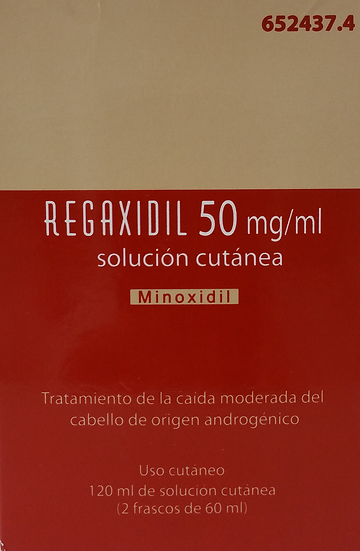 Regaxidil50 Mg/Ml Solu Cutanea 2