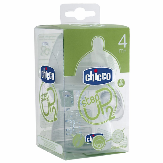 Biberon Plastico Pp T Si0% Bisfenol Boca Ancha F