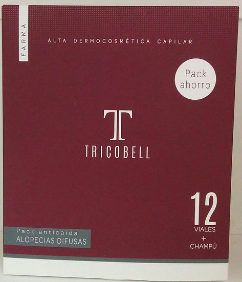 Tricobell Pack Ahorro Champu Antic + Amp Difusas