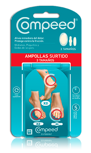 Compeed Amphidrocoloide Surtido 5 U