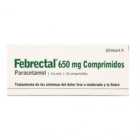Febrectal650 Mg 20 Compr