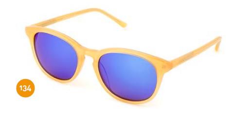 Gafas De Sol Amarillas De Espejo
